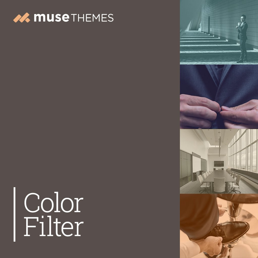 Color Filters Adobe Muse Widget