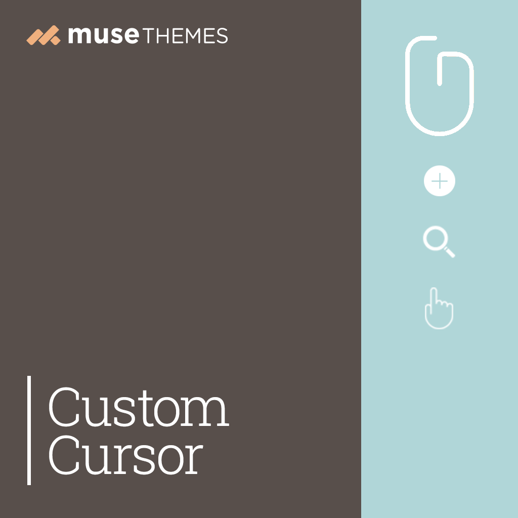 Custom Cursor Adobe Muse Widget