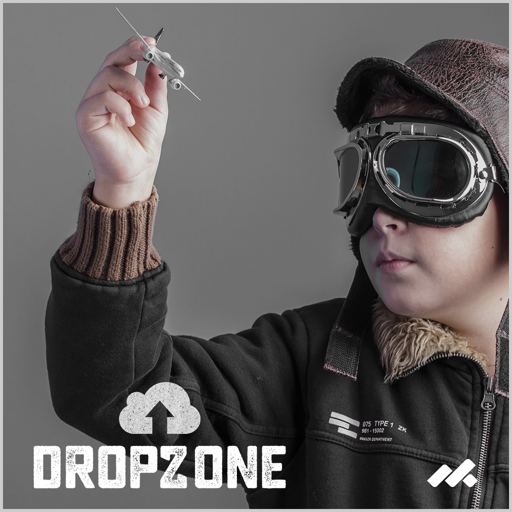 DropZone File Uploader Adobe Muse Widget