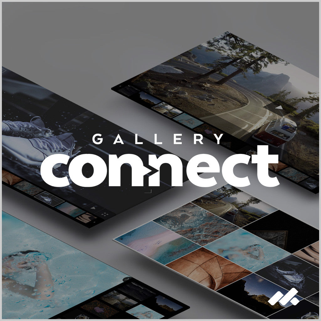 Gallery Connect Adobe Muse Widget