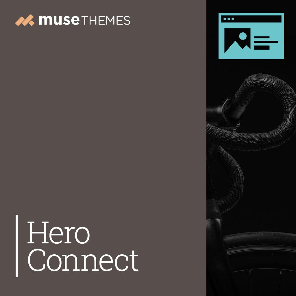 Hero Connect Adobe Muse Widget