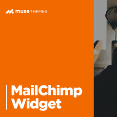 MailChimp Adobe Muse Widget