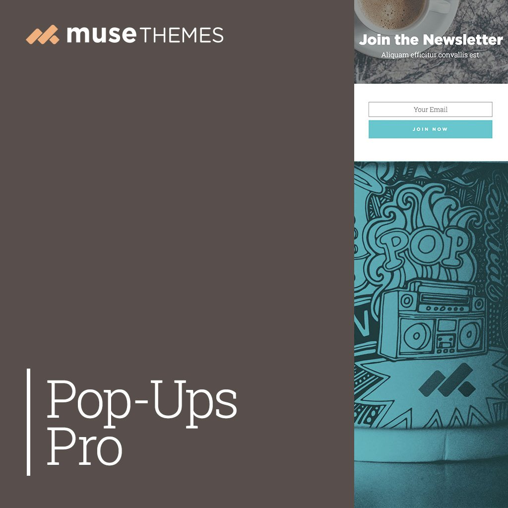 Pop-Ups Pro Adobe Muse Widget