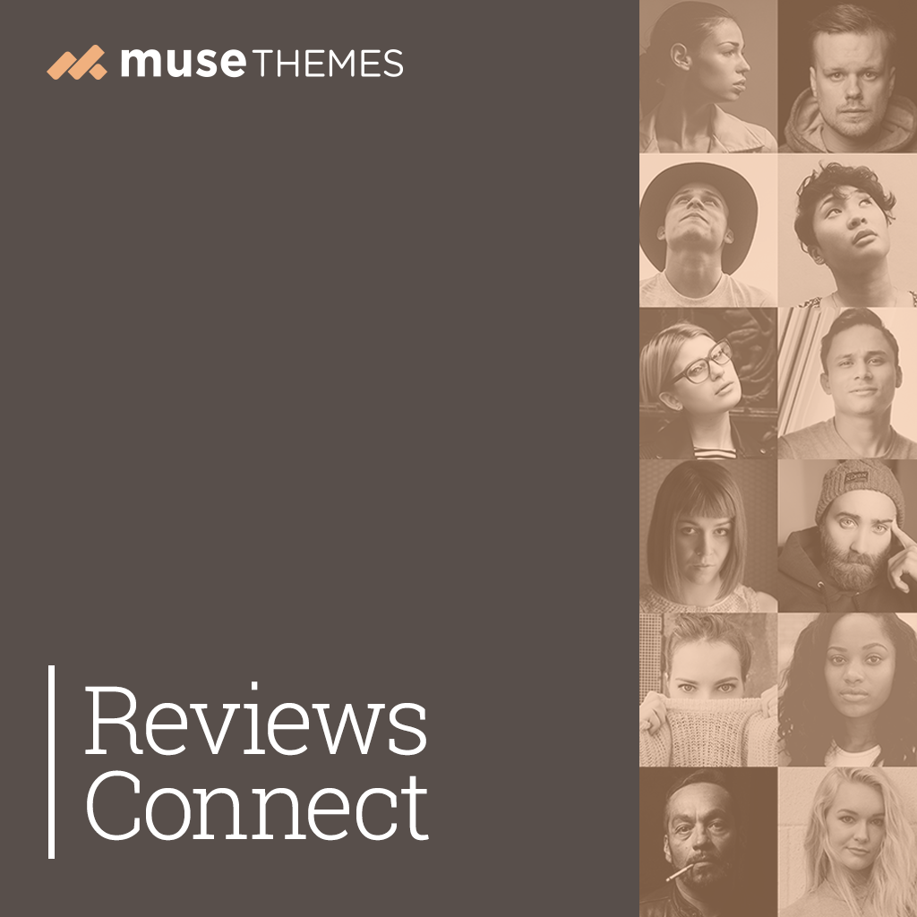 Reviews Connect Adobe Muse Widget