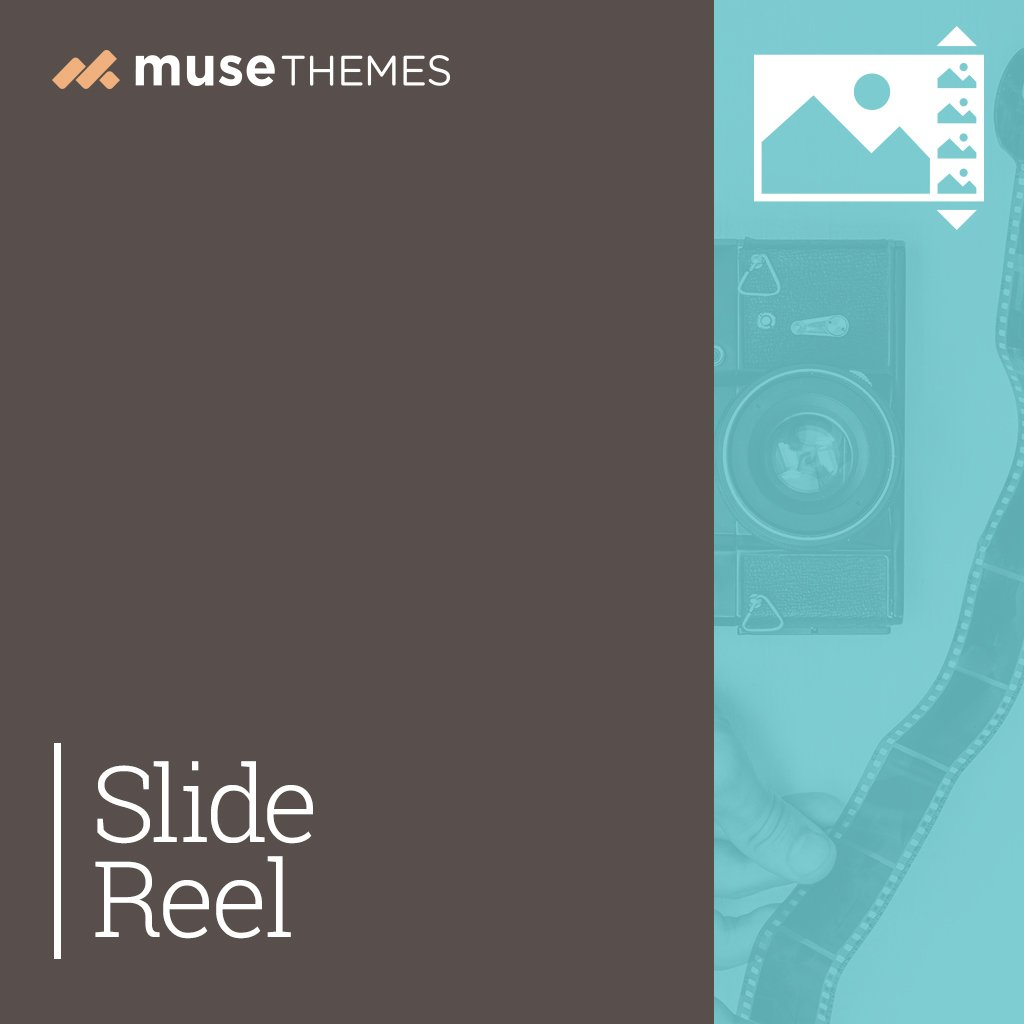 Slide Reel Adobe Muse Widget