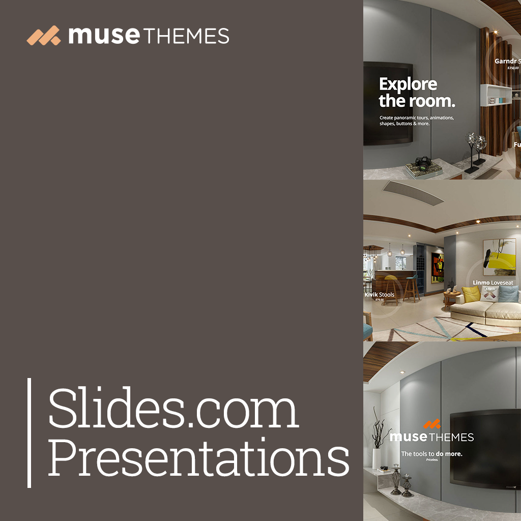 Slides.com Presentations Adobe Muse Widget