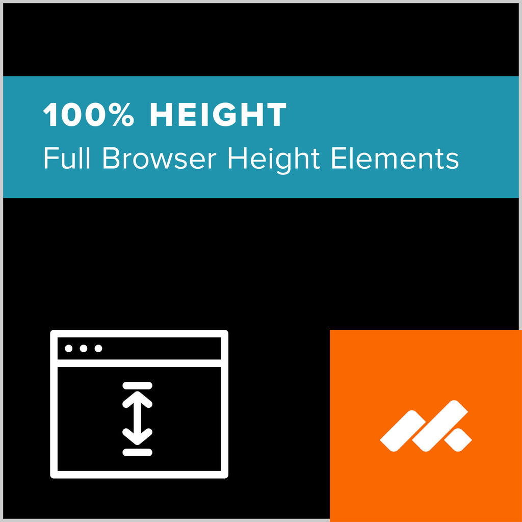 100% Height Adobe Muse Widget