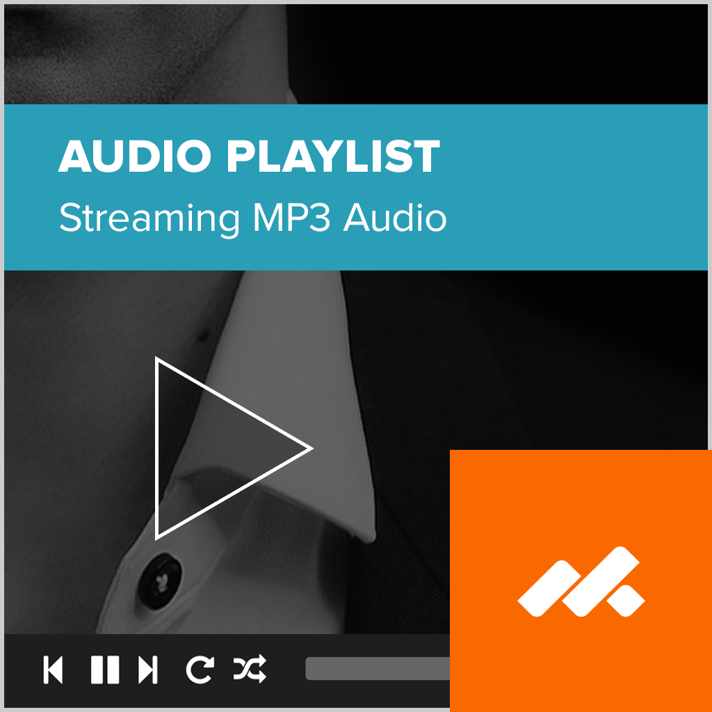 Audio Playlist Adobe Muse Widget