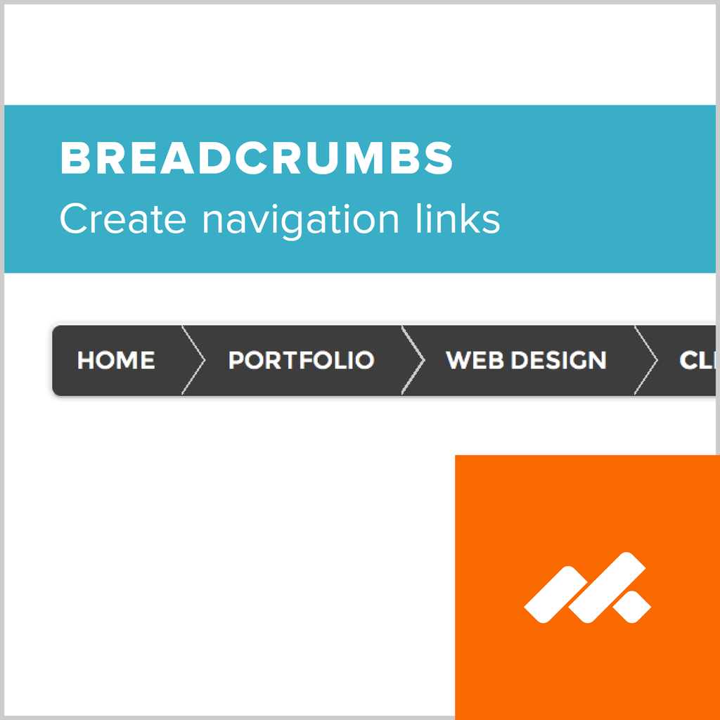 Breadcrumb Navigation Adobe Muse Widget