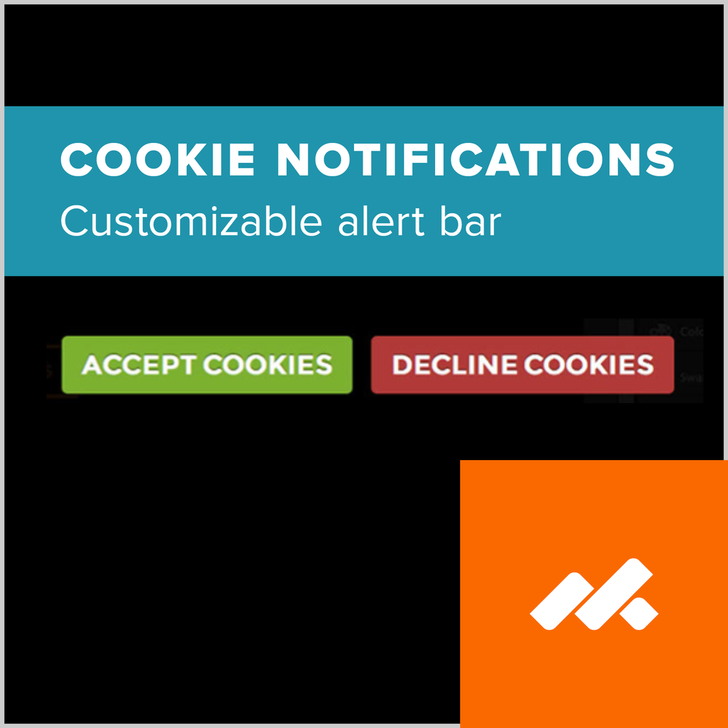 Cookie Notifications Adobe Muse Widget