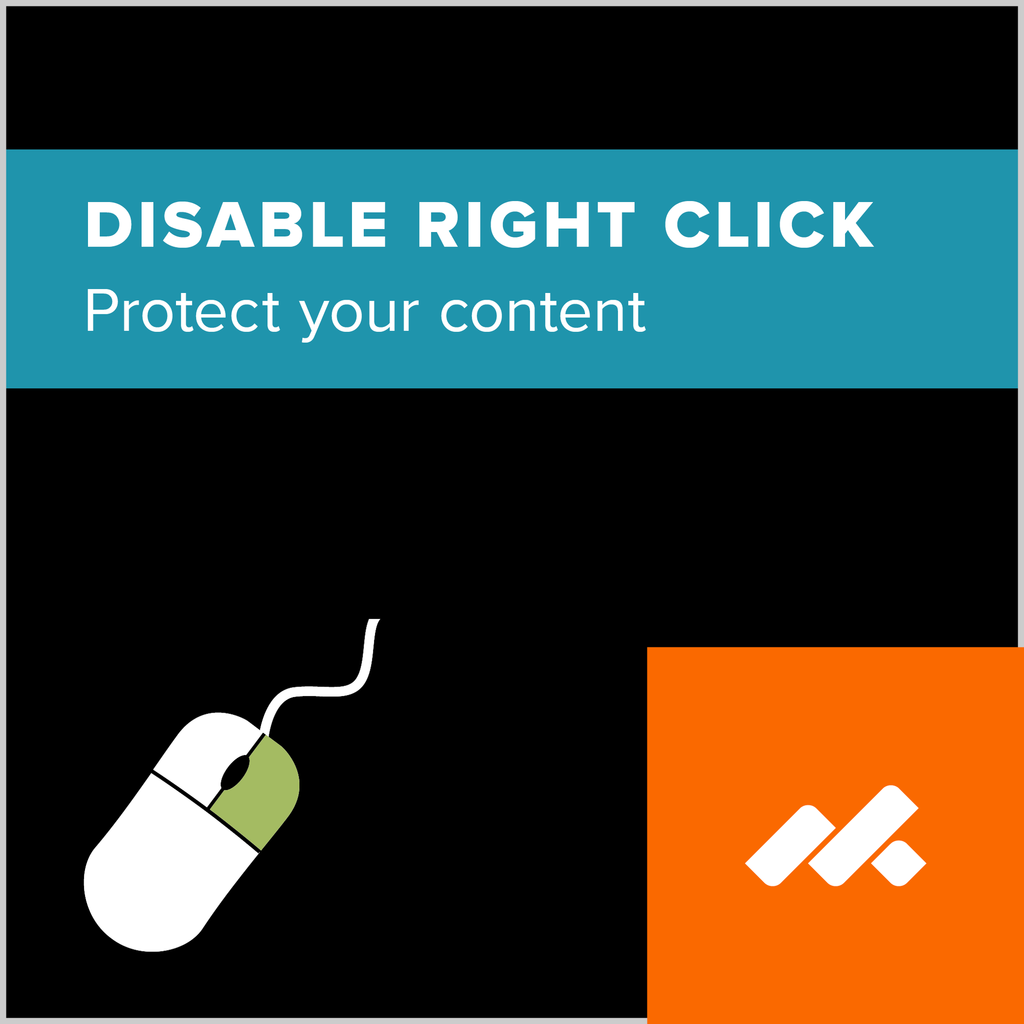 Disable Right Clicking Adobe Muse Widget