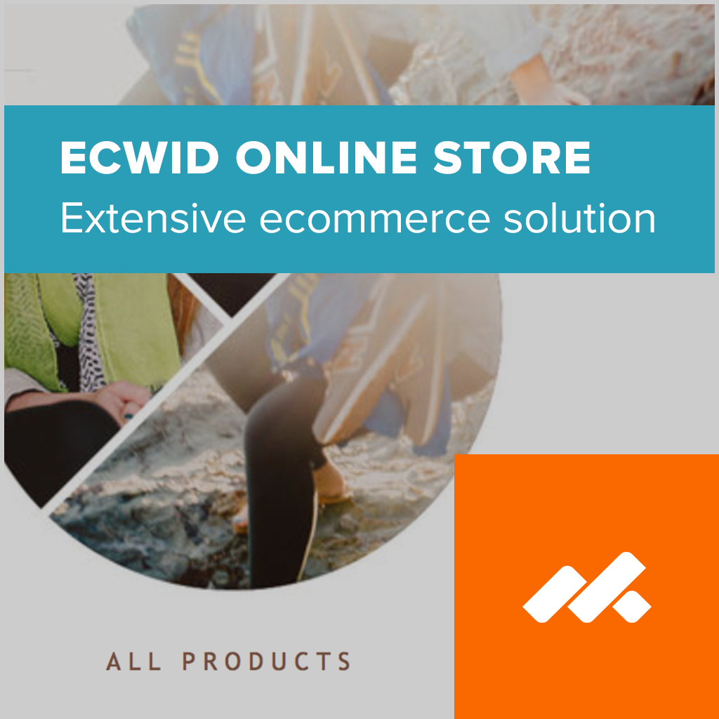 Ecwid Ecommerce Store Adobe Muse Widget