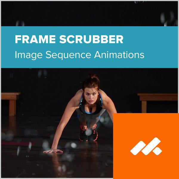 Frame Scrubber Image Sequence Adobe Muse Widget