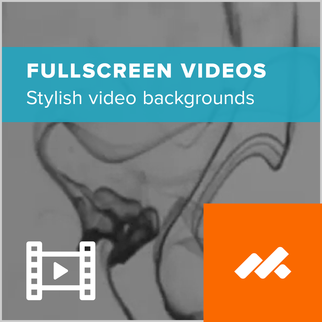 Fullscreen Video Background Adobe Muse Widget