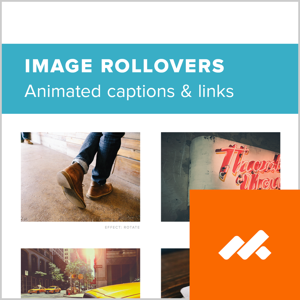 Image Rollovers Adobe Muse Widget