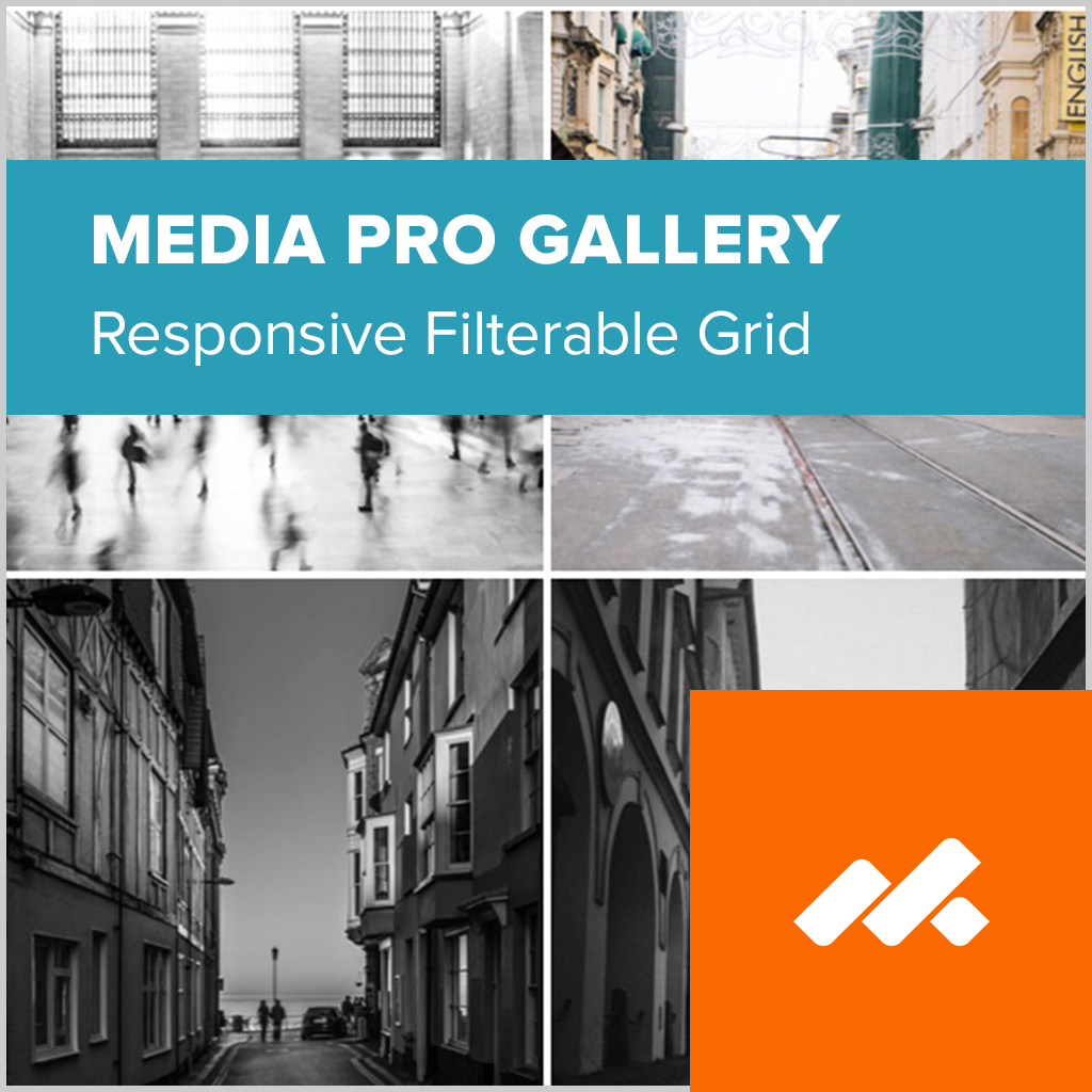 Media Pro Gallery Adobe Muse Widget