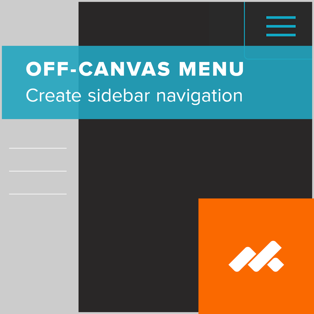 adobe muse off-canvas menu widget
