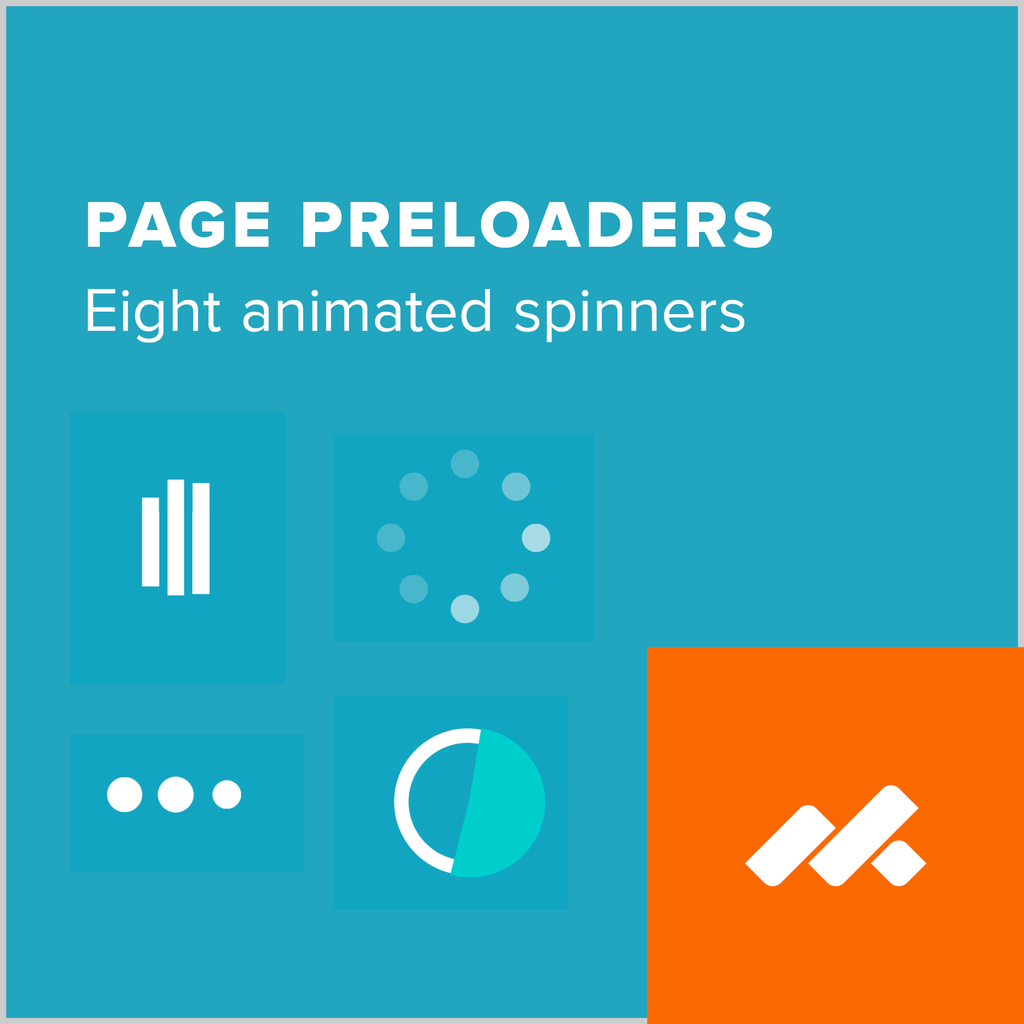 Animated Page Preloaders Adobe Muse Widget