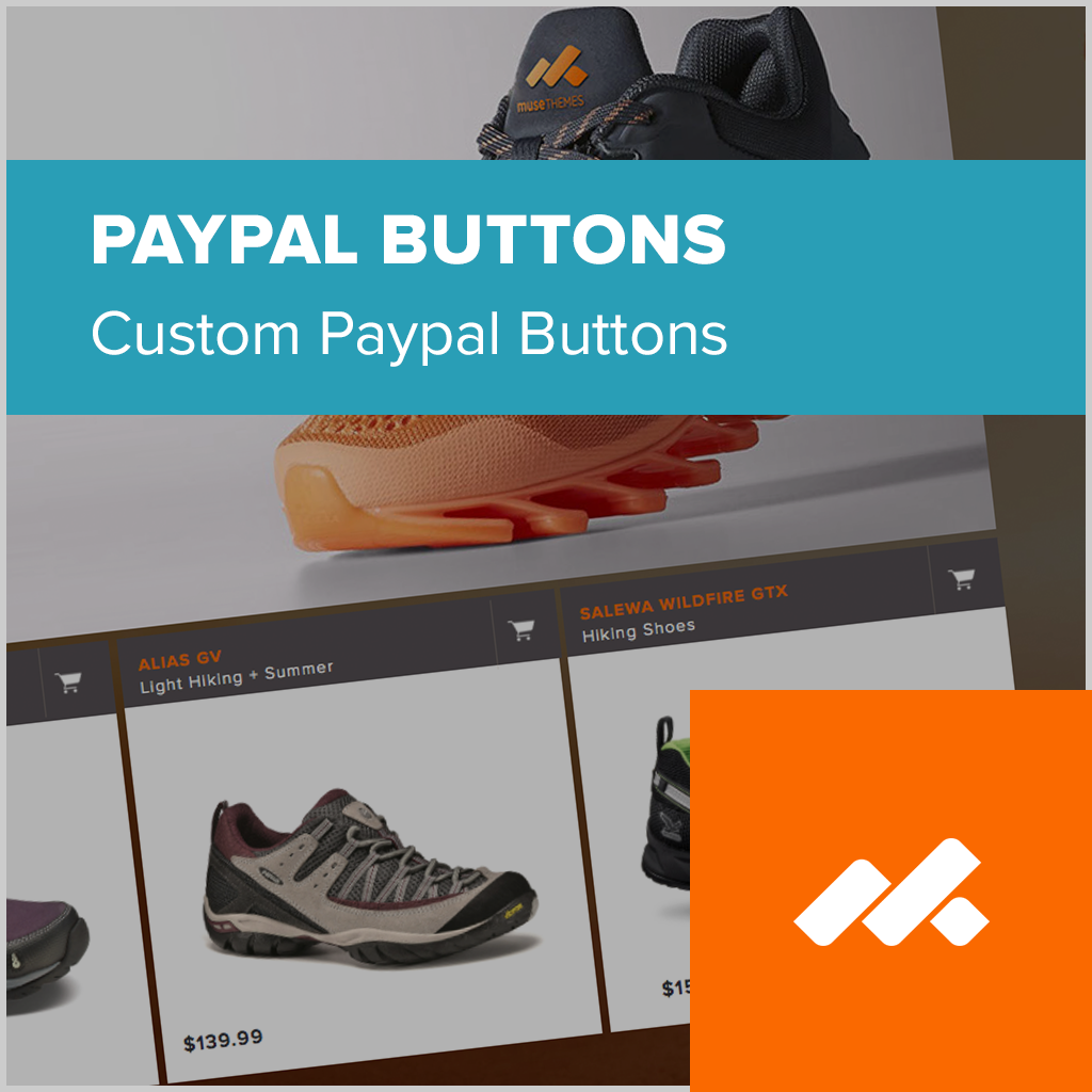 adobe muse paypal custom buttons widget
