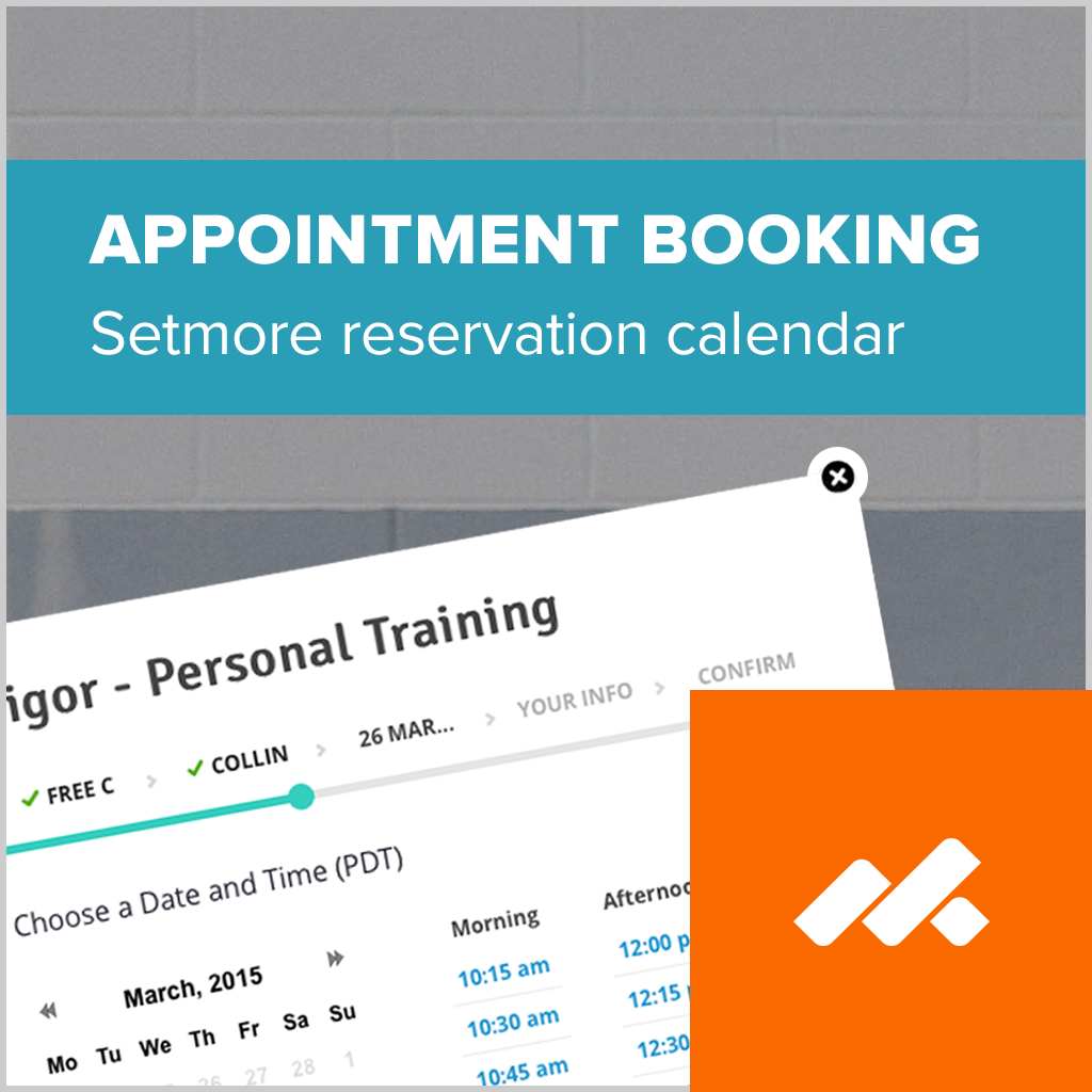 adobe muse appointment booking widget