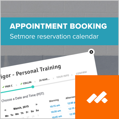 Setmore Appointment Booking Widget