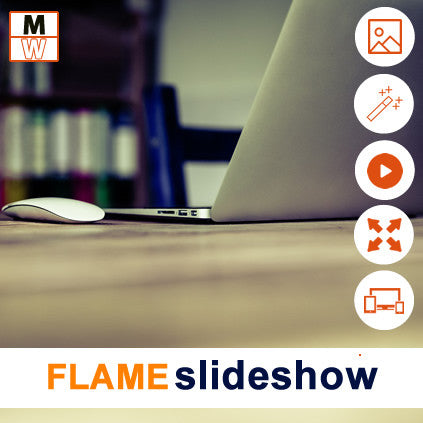 Flame Slideshow