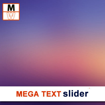Mega Text Slider