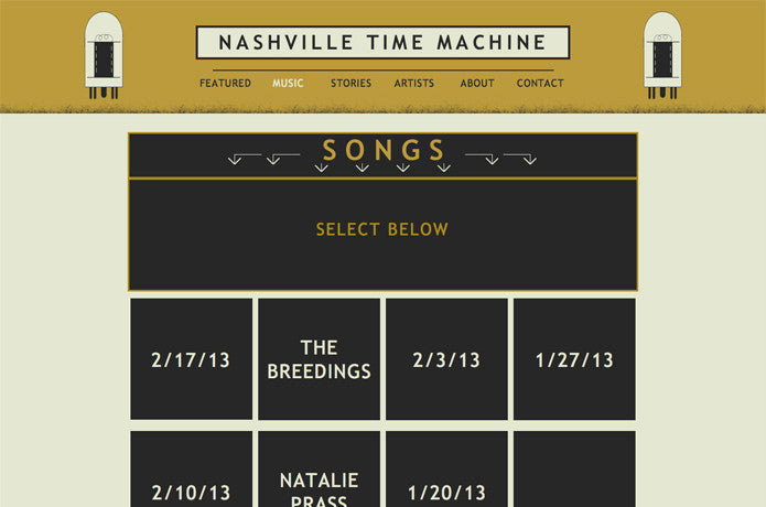 Nashville Time Machine, United States