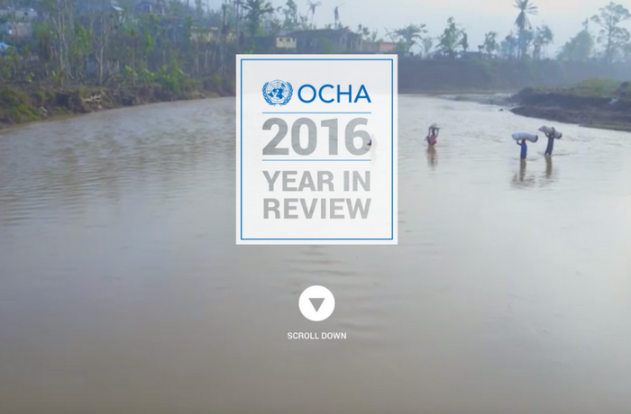 2016 OCHA Year in Review, United States