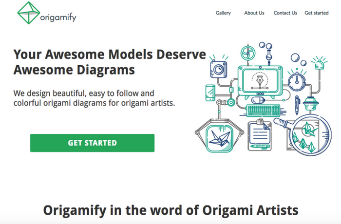 Project Origamify, Iran