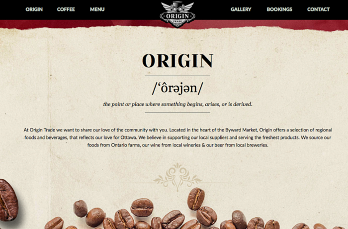 Origin Trade - Ottawa's Coffee House & Lounge, Canada