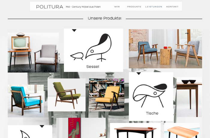 Politura/Mid Century Furniture, Germany