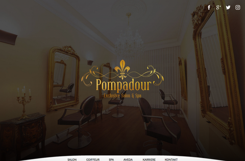 Pompadour Hairdressing Salon & Spa, Germany