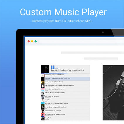 Free music player for Muse  – Adobe Muse Widget Directory