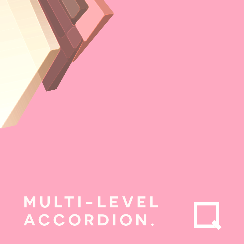 Multi Level Accordion