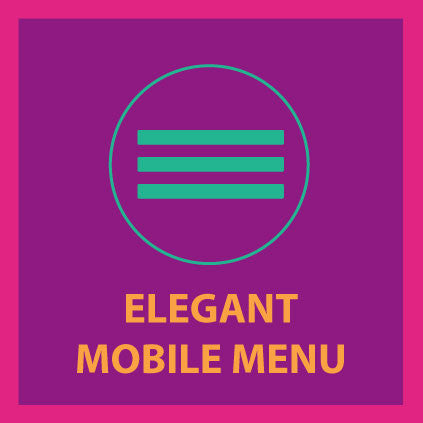 Elegant Mobile Menu