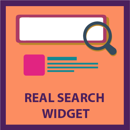 Real Search Widget