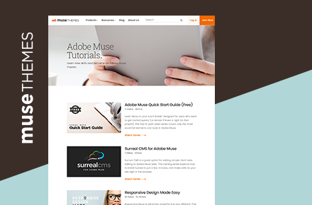 MuseThemes Adobe Muse Training