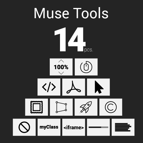 Muse Tools | Adobe Muse Widget