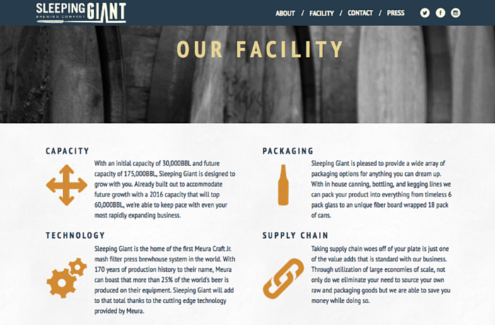 Sleeping Giant Brewing Company, United States