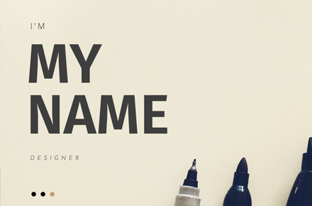 My Name Starter (Jun-2015)