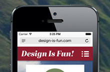 How to create a mobile website with Adobe Muse CC (Nov-2012)