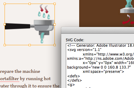 Vector art (SVG) in Adobe Muse CC (Oct-2014)