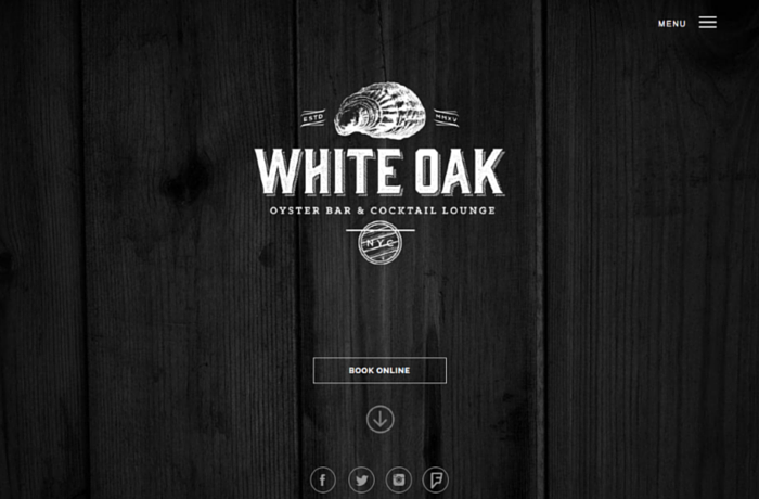 White Oak Oyster bar, United States