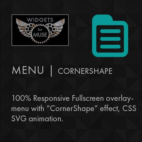 Menu | Cornershape