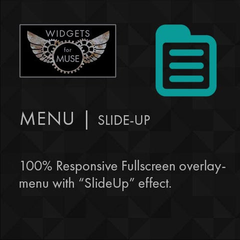 Menu | Slide-up