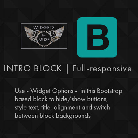 BS | Fullresponsive Intro Block