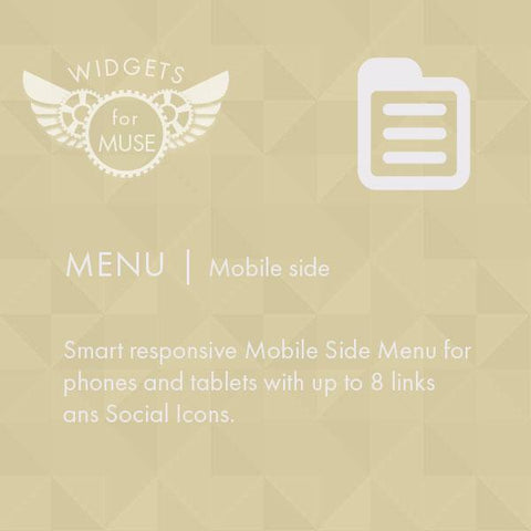 Menu | Mobile Sidemenu