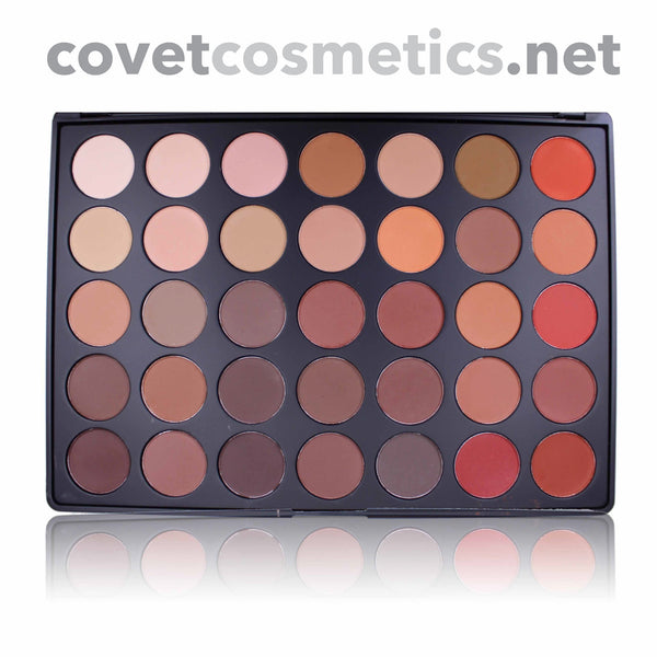 Morphe 35 Color Nature Glow Matte Palette - 35OM - Covet Cosmetics