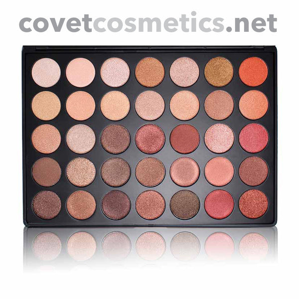 Morphe 35 Color Nature Glow Shimmer Palette - 35OS - Covet Cosmetics